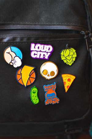 Loud City Pin