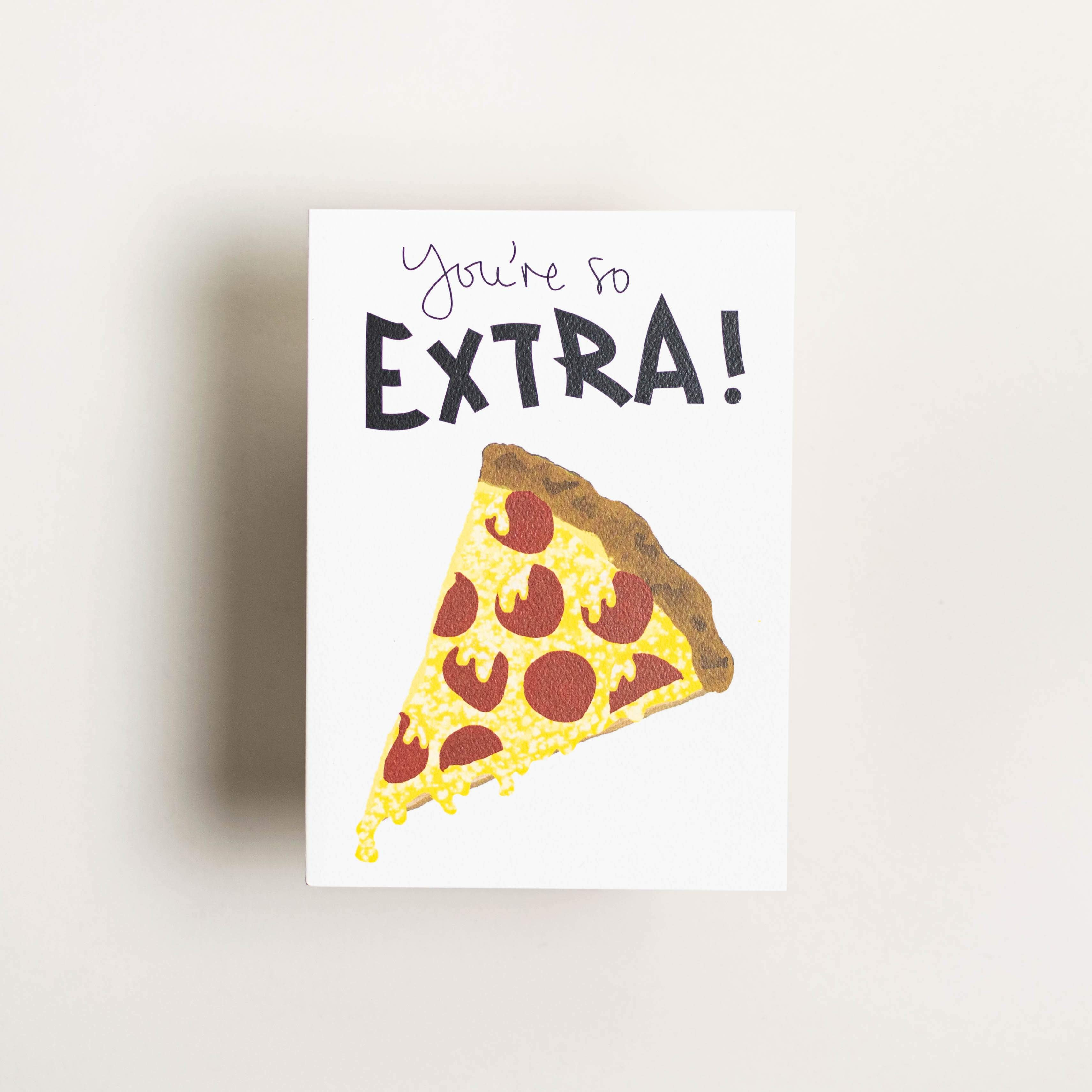 Pizza - Card