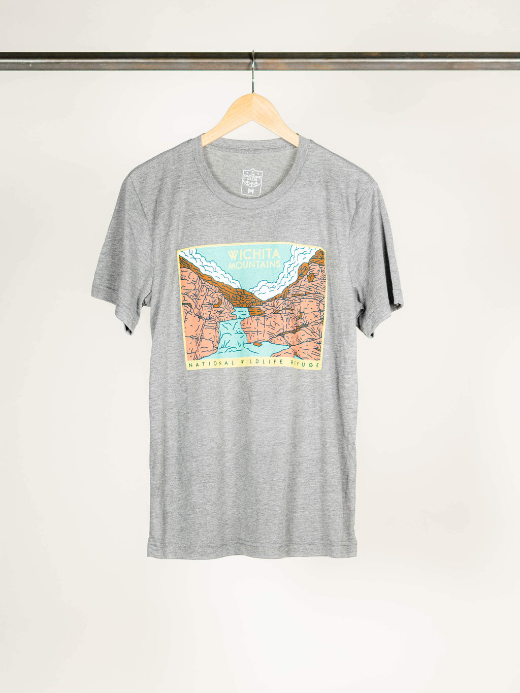 Wichitas Tee - Grey