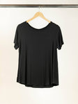 Bamboo Basic Tee - Black