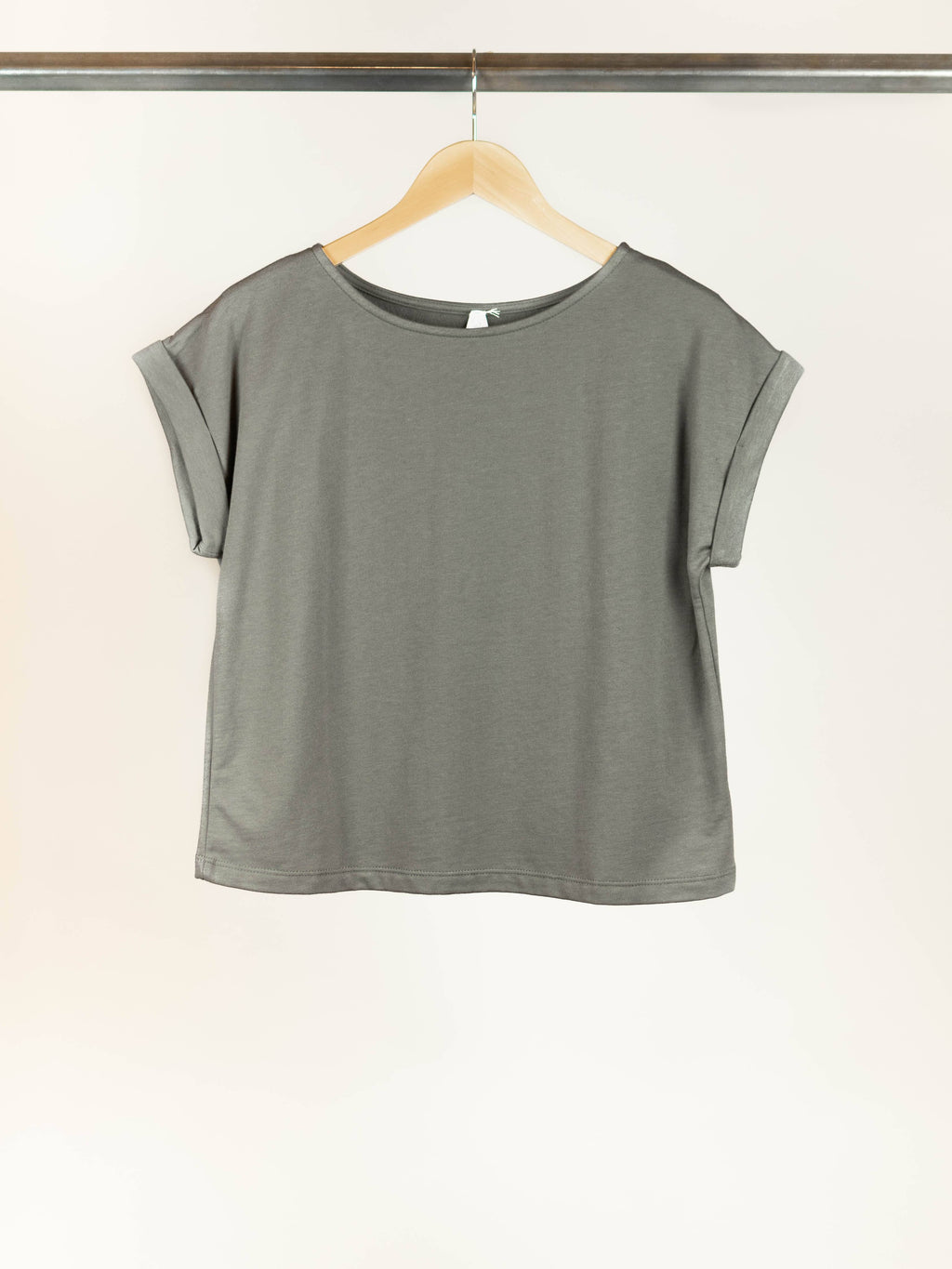 Heavyweight Hemp / Cotton Crop Top