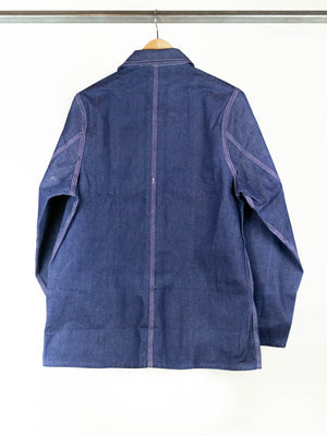 Vintage Deadstock Chinese Denim Chore Coat Unlined