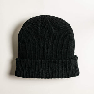 Shop Beanie Merino Wool - Black
