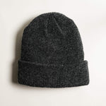 Shop Beanie Merino Wool - Dark Grey