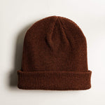 Shop Beanie Merino Wool - Brown