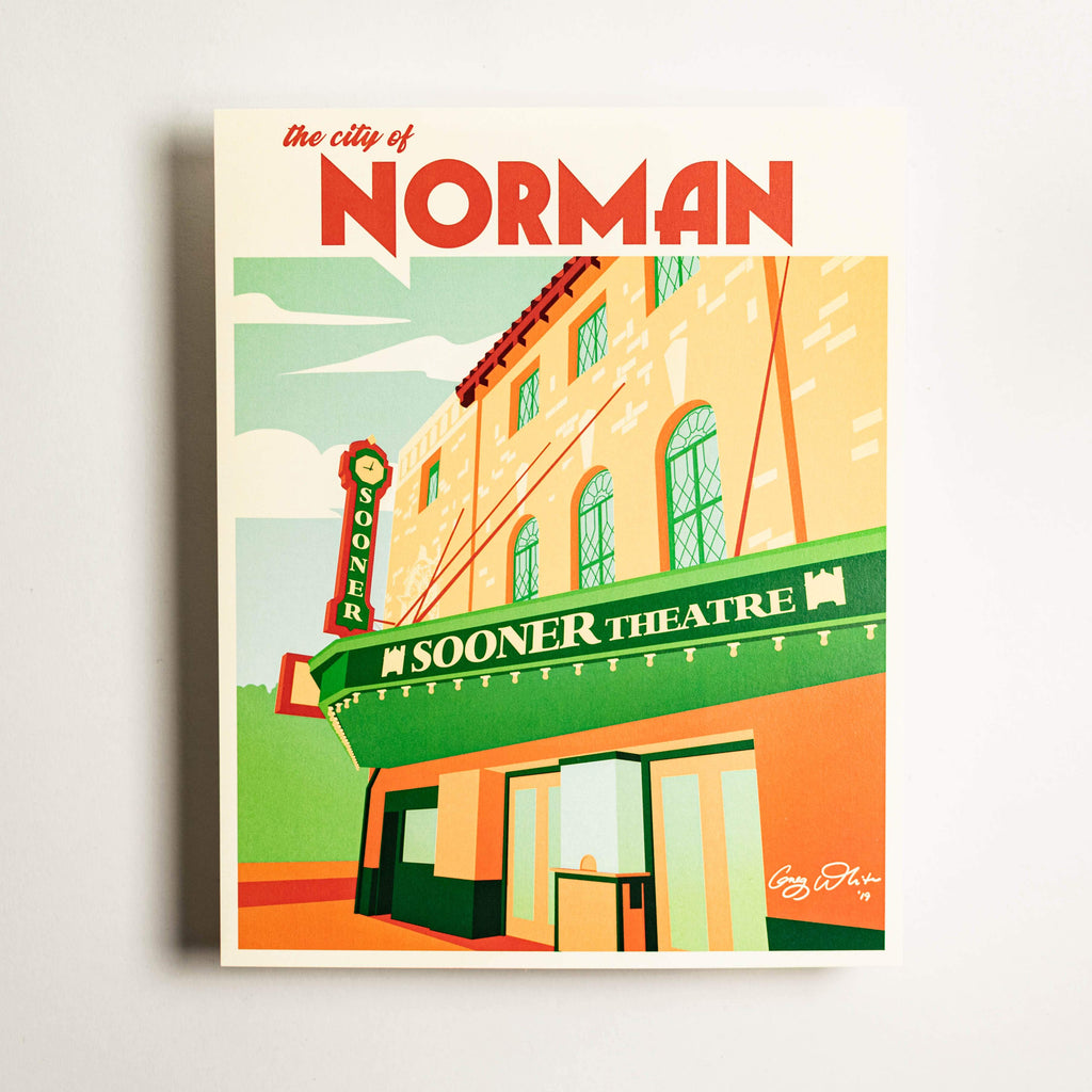 Downtown Norman - Large Print
