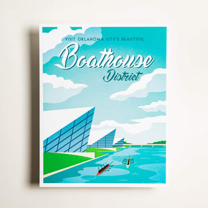 Boathouse District - Medium Print