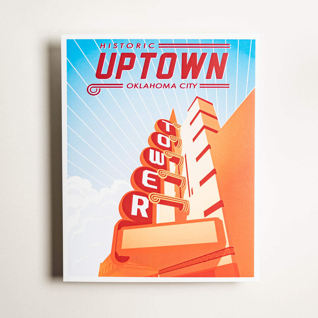 Historic Uptown - Large Print
