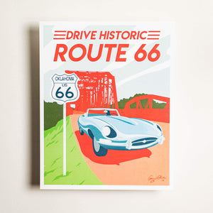 Route 66 - Large Print
