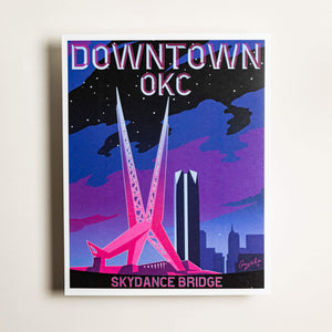 Downtown OKC - Large Print