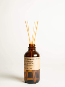 Teakwood + Tobacco - Reed Diffuser