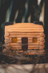 Log Cabin with Piñon