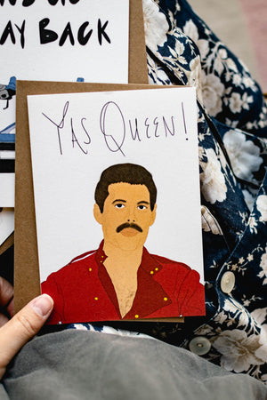 Yas Queen - Card