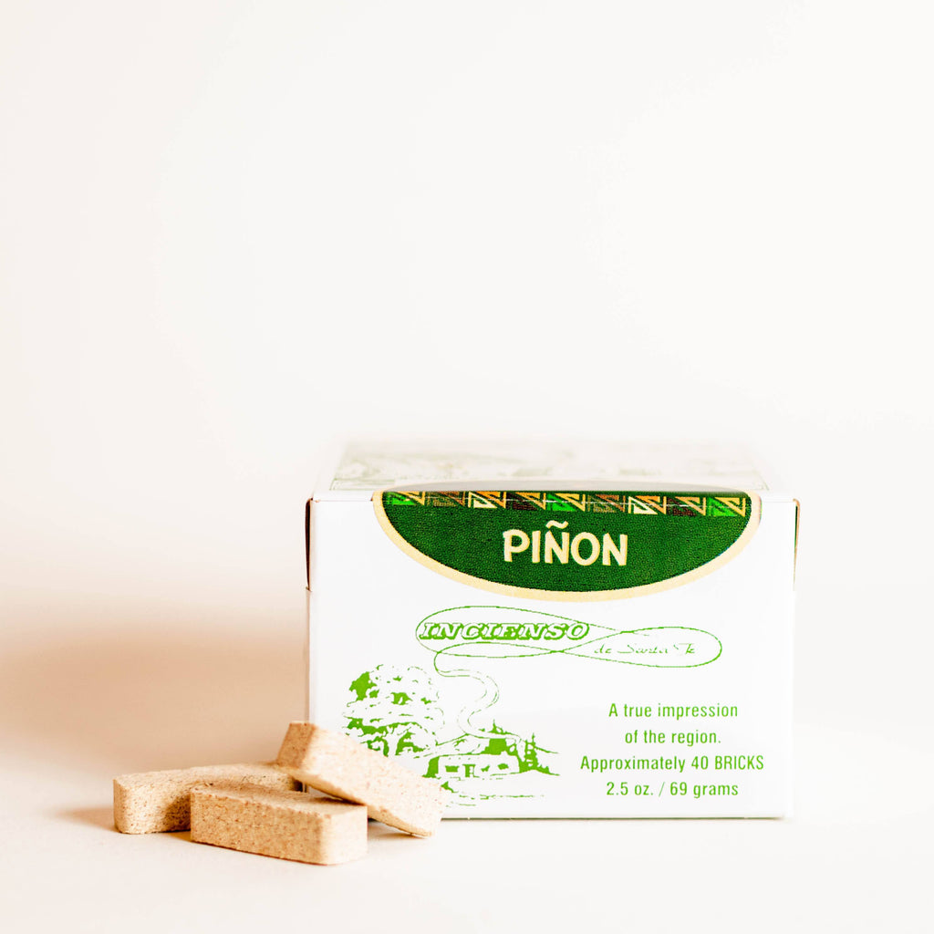 Piñon Incense Bricks - 40 Count