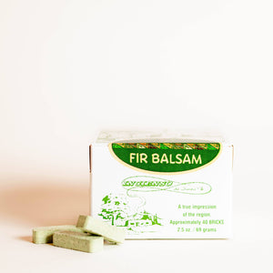 Fir Balsam Incense Bricks - 40 Count