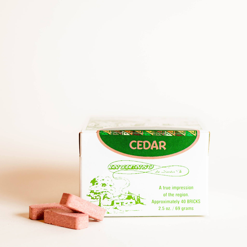 Cedar Incense Bricks - 40 Count