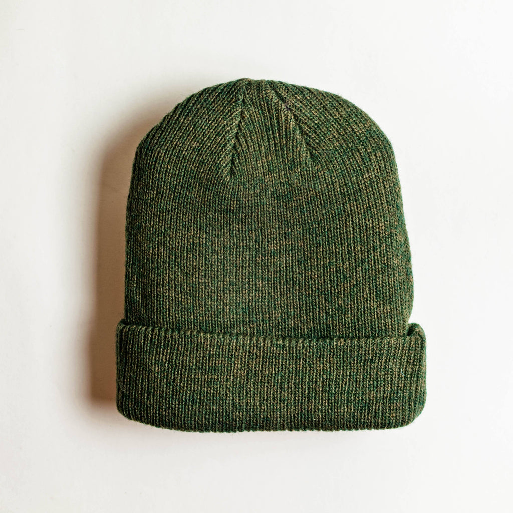 Shop Beanie Merino Wool - Forest