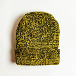 Mixed Acrylic Beanie - Yellow