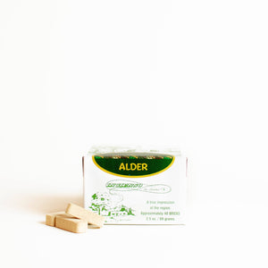 Alder Incense Bricks - 40 Count