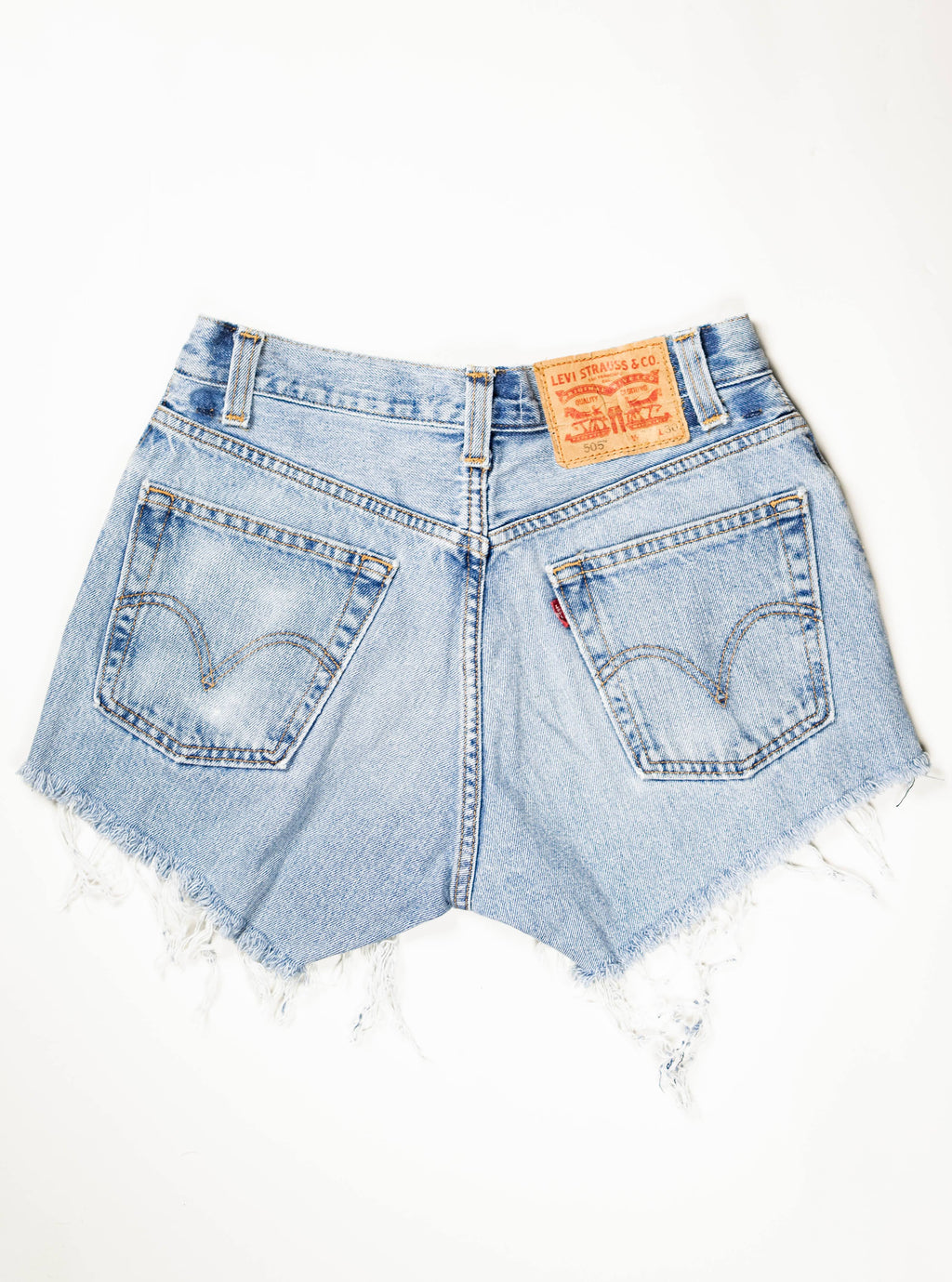 Reworked Vintage Cutoff Levi Jean Short - 29