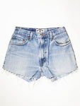 Reworked Vintage Cutoff Levi Jean Short - 28