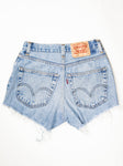 Reworked Vintage Cutoff Levi Jean Short - 27