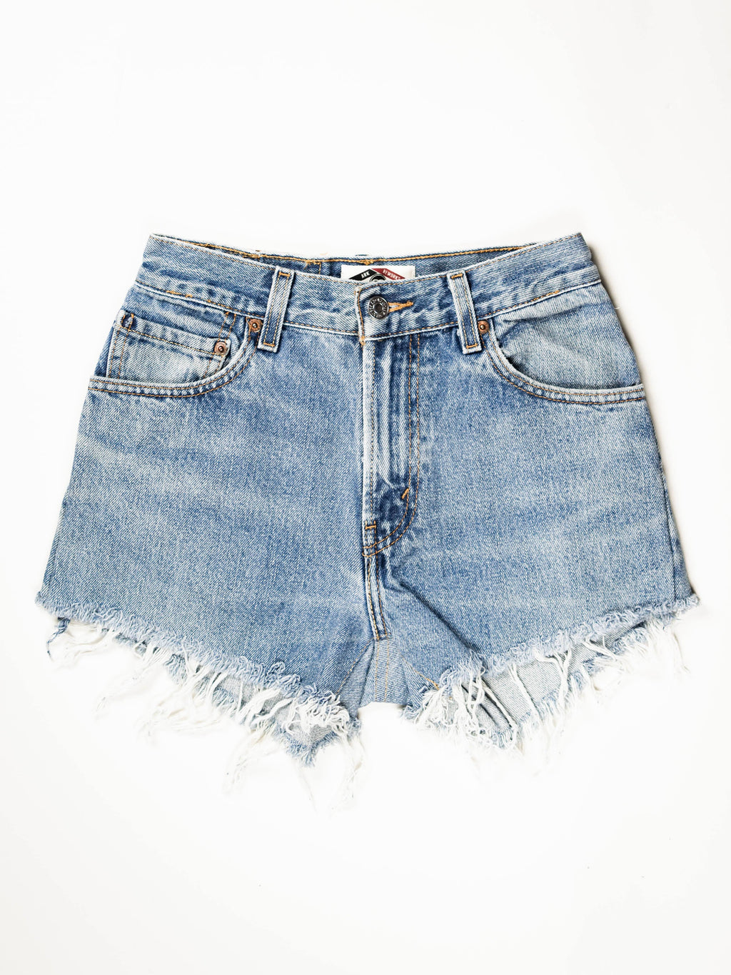 Reworked Vintage Cutoff Levi Jean Short - 26