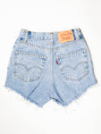 Reworked Vintage Cutoff Levi Jean Short - 25