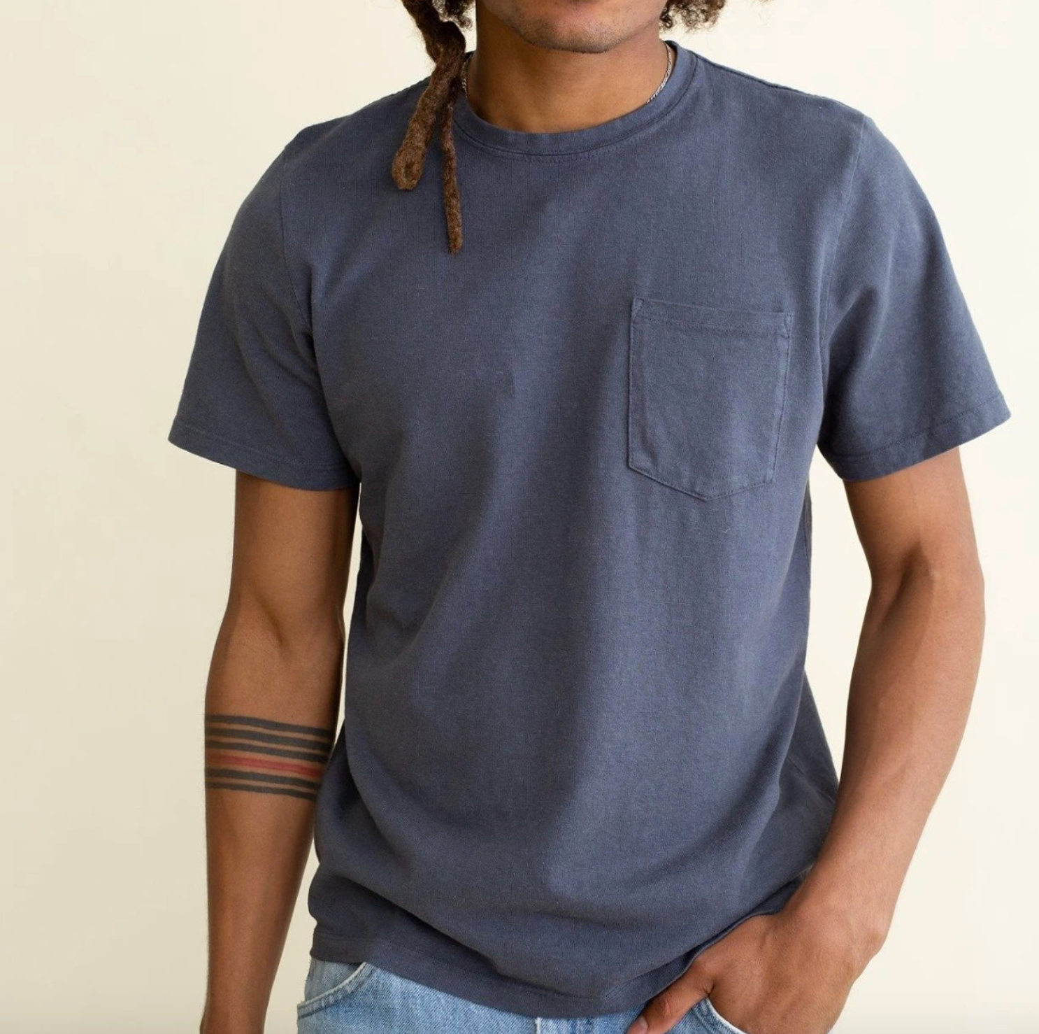 Baja Pocket Tee - Grey