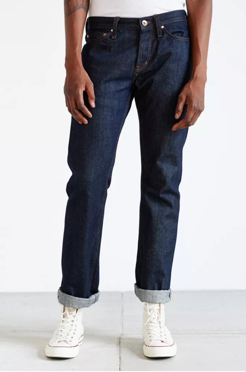 Tapered 11oz Indigo Stretch Selvedge
