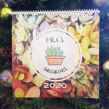 Load image into Gallery viewer, Mick's Succulents 2020 Calender