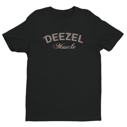 Deezel Logo Black and Grey T-shirt