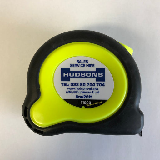 Fisco Hudsons 8 Meter Pocket Tape