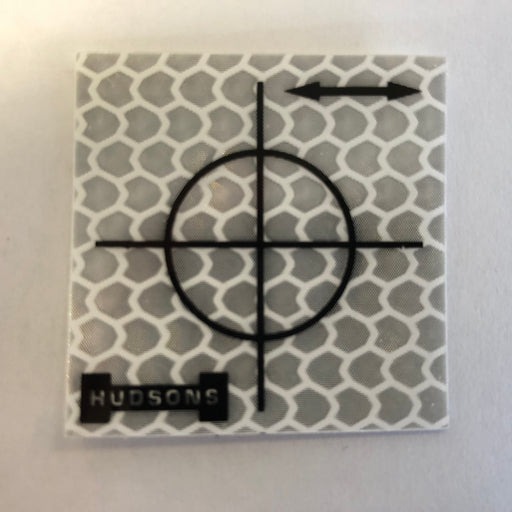 Hudsons White 40 mm Retro Targets