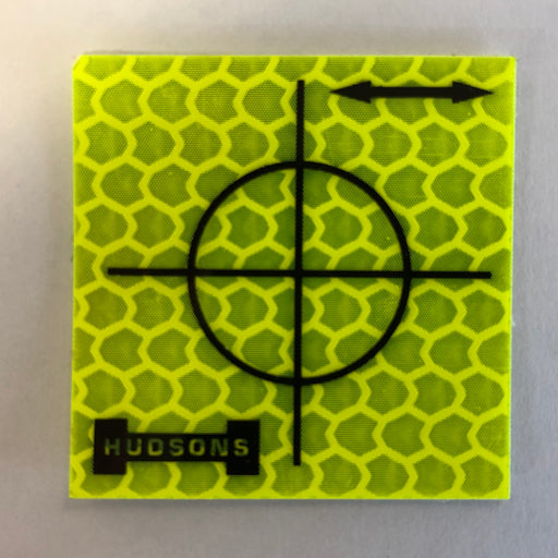 Hudsons Yellow 30 mm Retro Targets