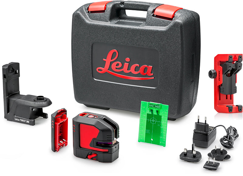 Leica Lino L2P5G-1 Cross Line Point Laser