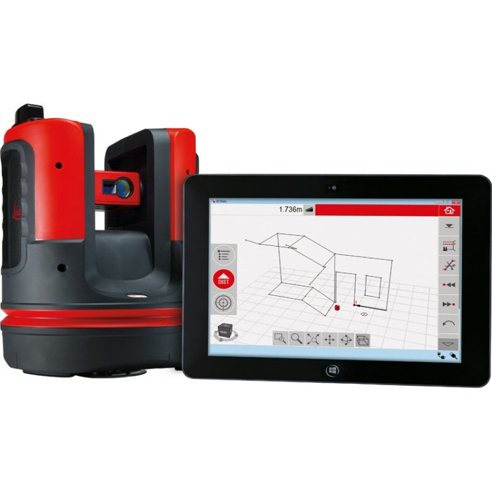 Leica Disto 3D Laser Distance Meter with Windows Software