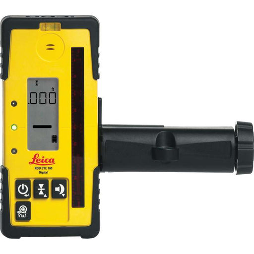 Leica Rod Eye 160 Digital Laser Receiver & Bracket