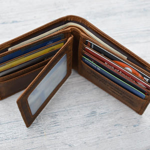 Dad To Son - You Will Never Lose - Bifold Wallet