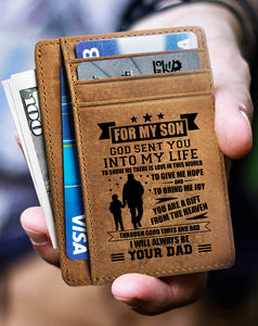 Card Wallet - Son, God Sent You Into My Life