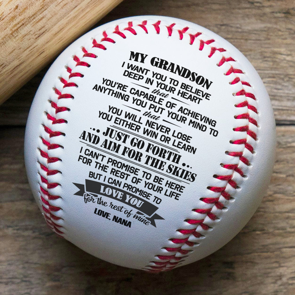 Nana To Grandson - You Will Never Lose - Baseball