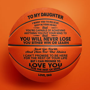 Dad to Daughter - You Will Never Lose - Basketball