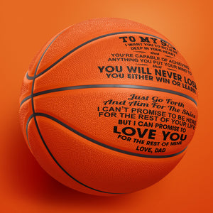 Dad to Son - I Love You - Basketball
