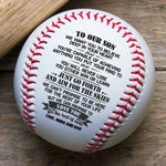 To Son From Mom And Dad - You Will Never Lose - Baseball