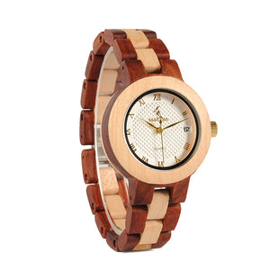 To My Wife - Love You Longer - Engraved Wooden Watch