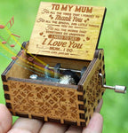 Son To Mum - I Need To Say I Love You - Engraved Music Box