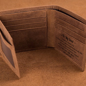 From Son To Dad - You Are The Best - Bifold Wallet
