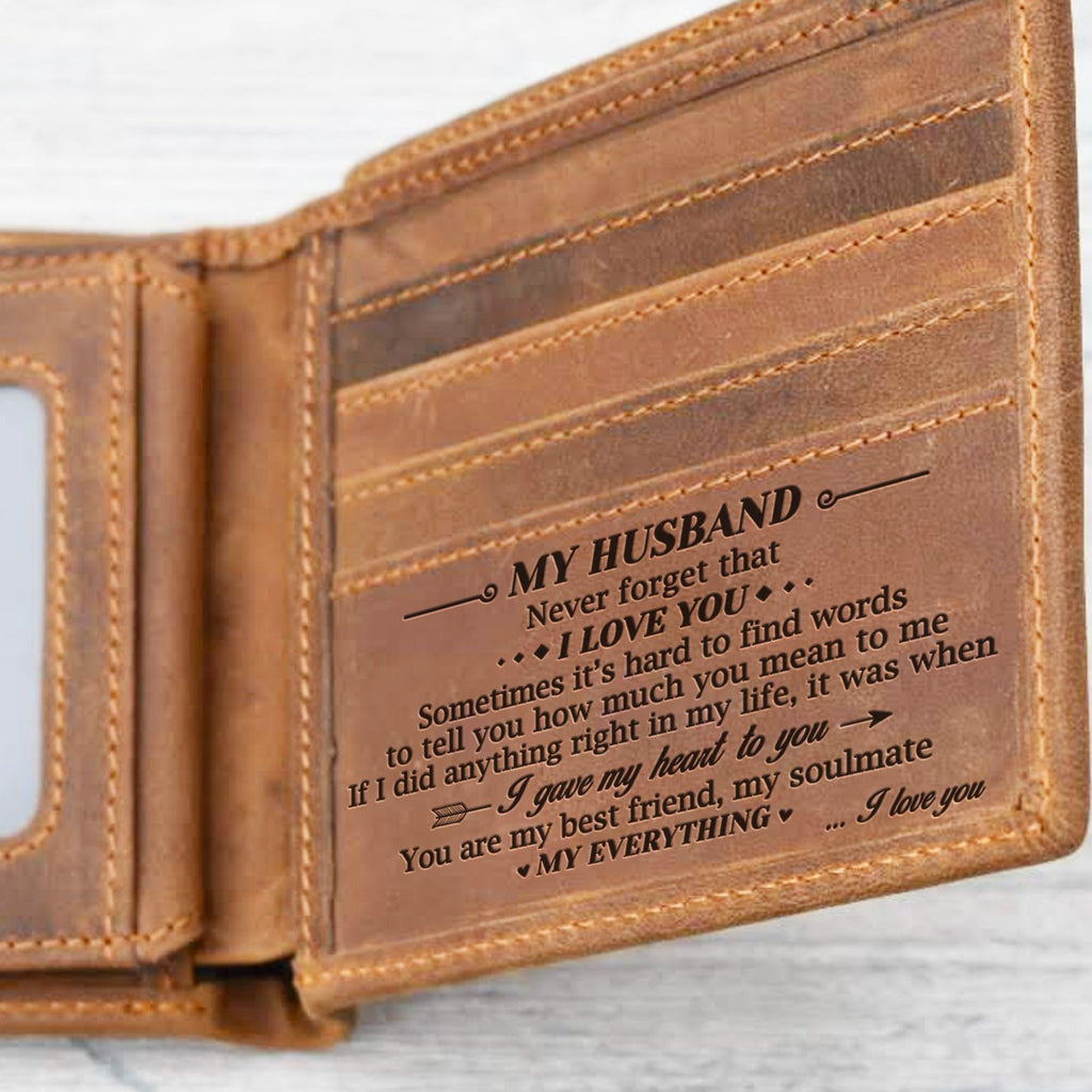 To My Husband - You Are My Everything - Bifold Wallet