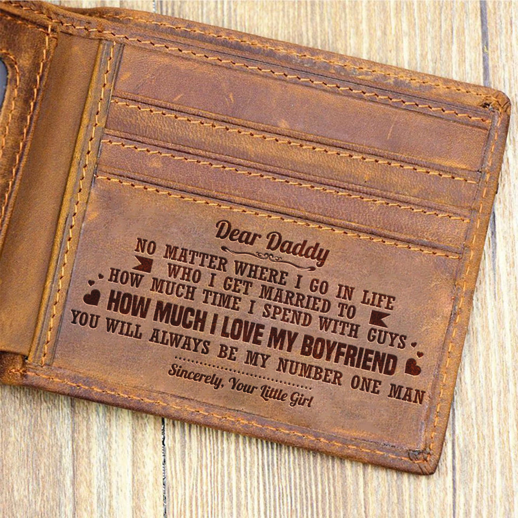 Daughter To Dad - You Are My Number One Man - Bifold Wallet
