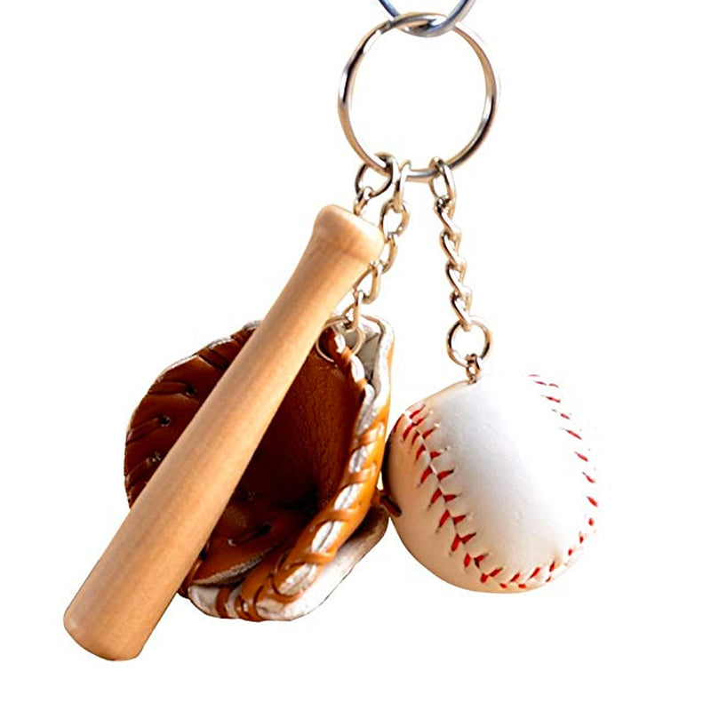 Baseball Gear Keychain